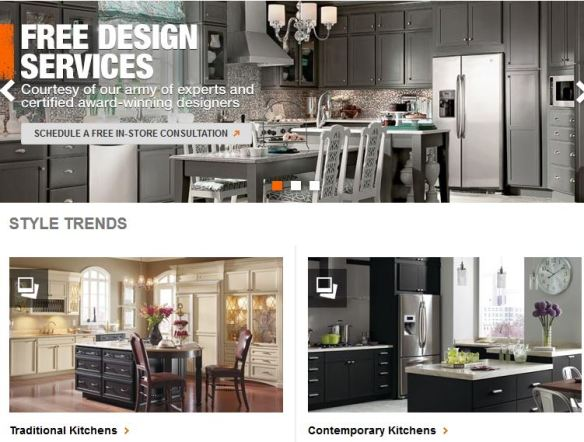 Home Depot Kitchen Designer Commission