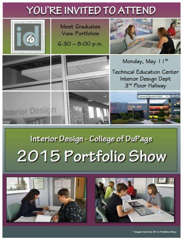 2015 Spring Portfolio Show Invitation