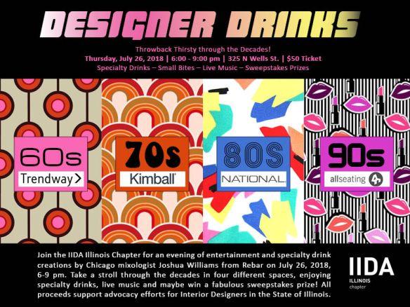 IIDA Designer Drinks 2018